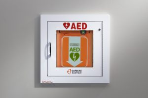 AED_Wall Cabinet Fully-Recessed with Alarm, Security Enabled_G5